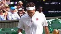 Wimbledon : La 100e victoire d'un Federer record