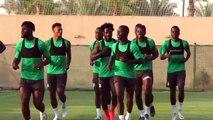 Ivory Coast train ahead of AFCON quarter-final versus Algeria
