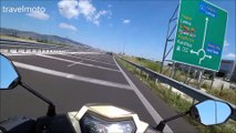 SYM VF185cc overtaking cars on the highways