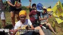 Tour de France : des cadeaux et des déchets qui font polémique