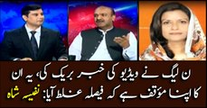 PML-N's opposition to court's verdict is its own stance: Nafisa Shah
