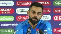 India's Virat Kohli post loss v New Zealand