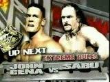 WWE Vs ECW - John Cena Vs Sabu - Extreme.Rules