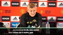 Man United - Solskjaer : ''Nous n'avons pas à vendre''