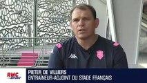 """Stade Français : """"Avec les nouveaux joueurs, il faut écrire une nouvelle page"""" estime De Villiers"""