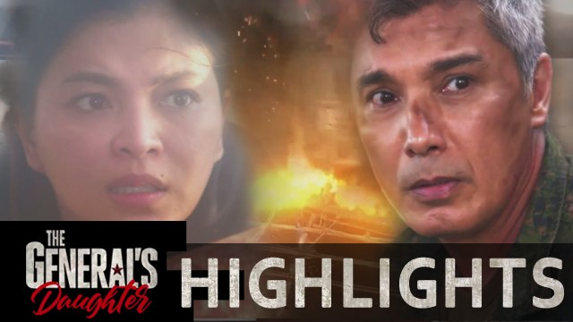 Marcial and Rhian disappear from boat explosion | The General's Daughter