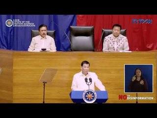 SONA 2018: Give me 48 hours, I'll sign BOL – Duterte