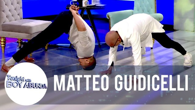 "Matteo teaches ""Tusok Ulo"" punishment to Tito Boy 