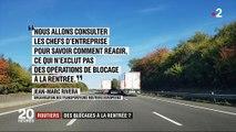 Taxe sur le gazole : les routiers prêts à bloquer les routes