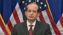 Labor Secretary Alex Acosta defends handling of Jeffrey Epstein case