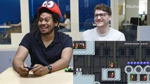 Mashable and Geek.com writers go head-to-head with their 'Super Mario Maker 2' levels