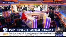 Paris: Benjamin Griveaux, candidat En marche (1/2)