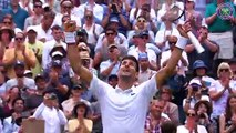 Digitally-cleared wrap from men's quarter-finals day at Wimbledon