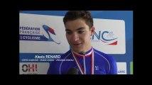 L'émotion d'Alexis Renard, Champion de France 2019