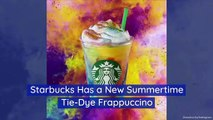 Starbucks Has a New Summertime Tie-Dye Frappuccino