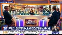 Paris: Benjamin Griveaux, candidat En marche (2/2)