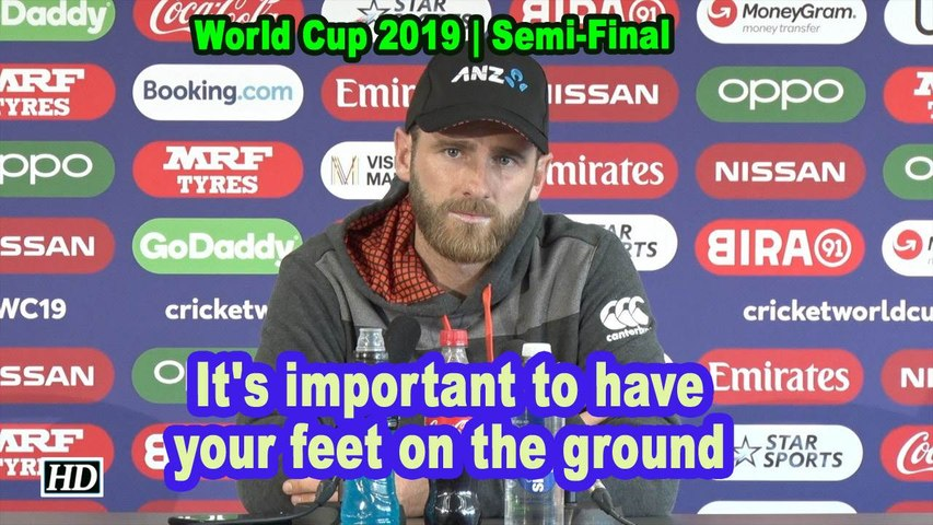 World Cup 2019 |It's important to have your feet on the ground: Williamson