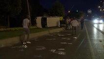 Bayrampaşa'da trafik kazası: 1 yaralı