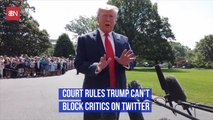 Donald Trump Cannot Legally Block His Haters