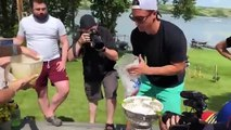 NHL - Saint Louis Blues Players Drink Margarita In The Stanley Cup
