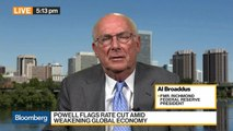 Former Fed President Broaddus Says July Rate Cut a 'Done Deal'