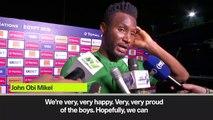(Subtitled) Why not? Mikel says Nigeria can go all the way after AFCON win
