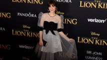 "Zooey Deschanel ""The Lion King' World Premiere Red Carpet"