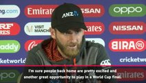 Making back-to-back World Cup finals a 'special moment' for New Zealand - Williamson