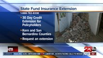 California extends state fund insurance extension, mental health services for earthquake victims