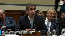 Michael Cohen continues his searing testimony...