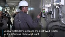Ukraine inaugurates giant dome over destroyed Chernobyl reactor