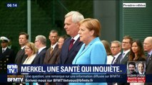 Les tremblements répétés d'Angela Merkel inquiètent sur l'état de santé de la chancelière