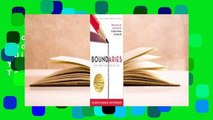 About For Books  Boundaries Updated and Expanded Edition: When to Say Yes, How to Say No To Take