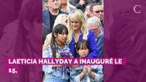 PHOTO. Laeticia Hallyday et ses filles ont quitté la France po...