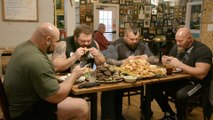 The Strongest Man in History: Chicken Wing Eating Contest