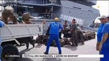 Festival des Marquises, l'armée en renfort