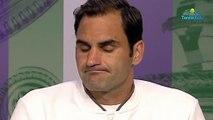 """Wimbledon 2019 - Roger Federer  sur le 40e Fedal : """"C'est cool de jouer contre Rafael Nadal"""""""