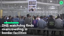 El Departamento de Seguridad Nacional (DHS) descubre hacinamiento en centros