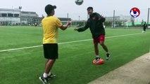 Đấu tập tại Kobe, U15 Việt Nam thử sức với đội trẻ Vissel Kobe   VFF Channel