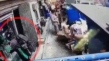 CCTV footage shows bank robbers as they enter Metrobank Binondo branch