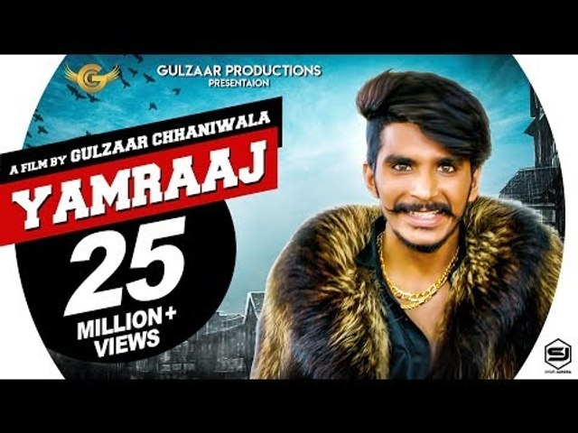 Gulzaar Chhaniwala - Yamraaj | Official Video | New Haryanavi Song 2019