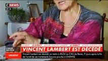 Vincent Lambert est décédé ce matin à 8h24 au CHU de Reims 9 jours après l'arrêt de ses soins - Il était plongé dans un état végétatif depuis 2008