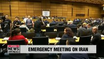 U.S. argues its case against Iran to divided IAEA meeting