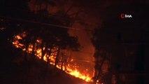 Muğla'da yeni bir orman yangını yerleşim yerini tehdit ediyor