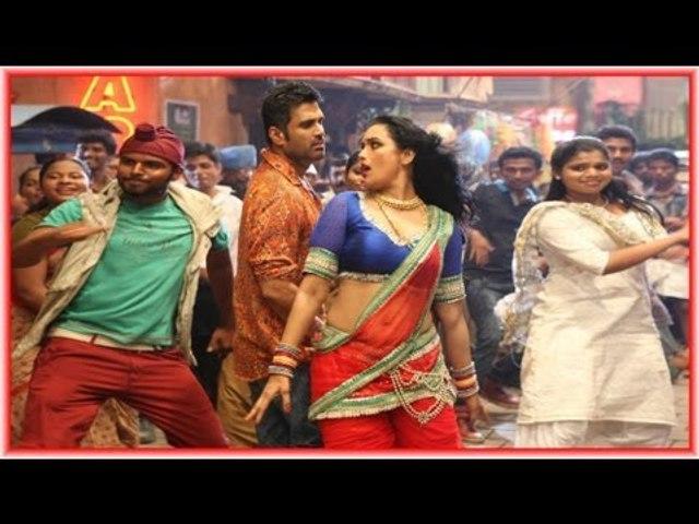 Sunil Shetty and Swetha Menon dancing for Malayalam Movie Kalimannu