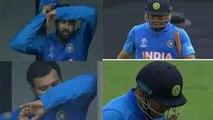 World Cup 2019: Rohit Sharma cries after MS Dhoni Run Out   वनइंडिया हिंदी
