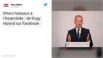 François de Rugy : Mis en cause pour des dîners fastueux, le ministre répond sur Facebook
