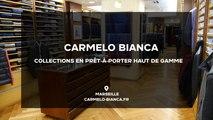 Carmelo Bianca, tailleur pour homme, prêt-à-porter haut de gamme à Marseille