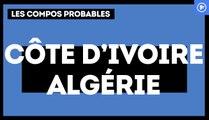 Côte d'Ivoire-Algérie : les compositions probables