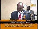Enstalasyon Kinton Louis kòm 2em Majistra Delmas ak Ann Marie Andre Jeudy kòm 3em Majistra Delmas